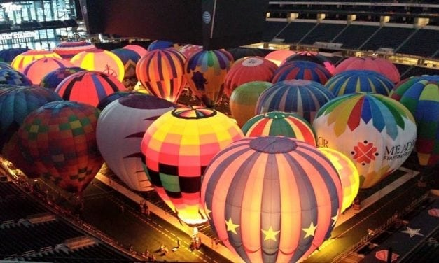 Super Glow II: Get Up Close & Personal with Hot Air Balloons at AT&T Stadium