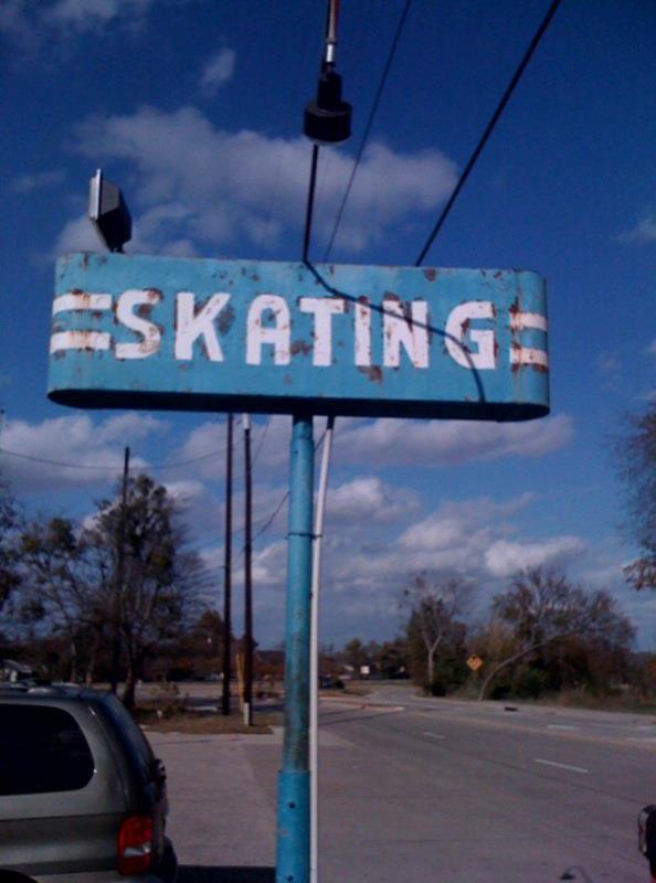 Skating rink in Cedar Hill Texas
