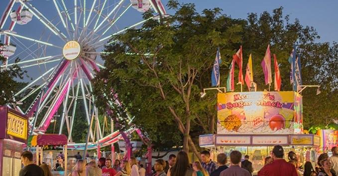 Carnival at Taste of Addison