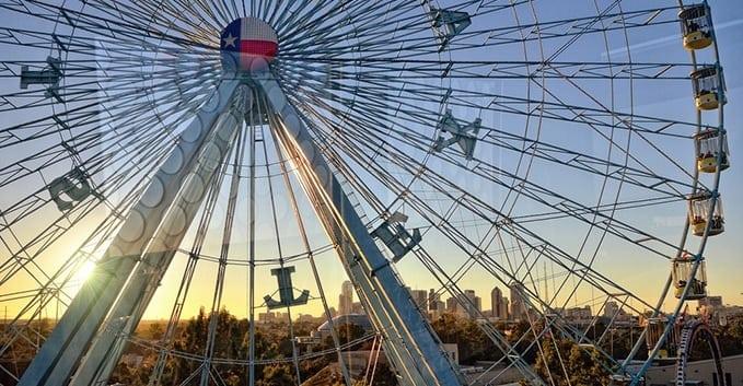 Fun Things in Dallas | Texas Star Ferris Wheel