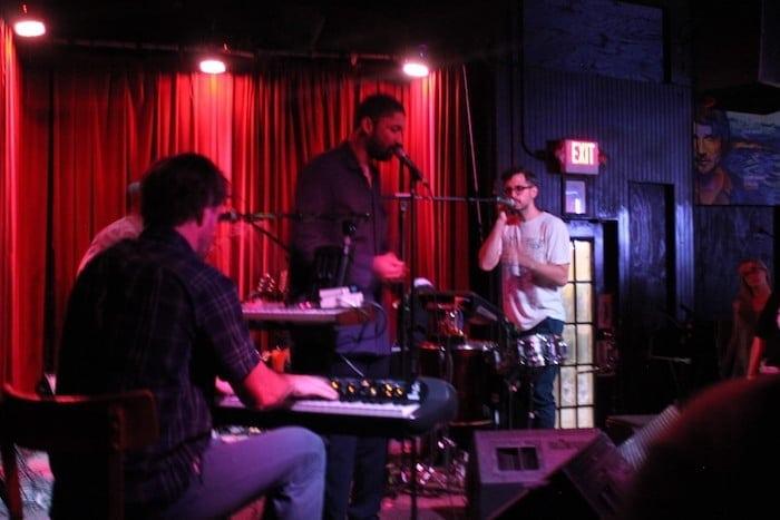 Yoni and Geti performing at Club Dada