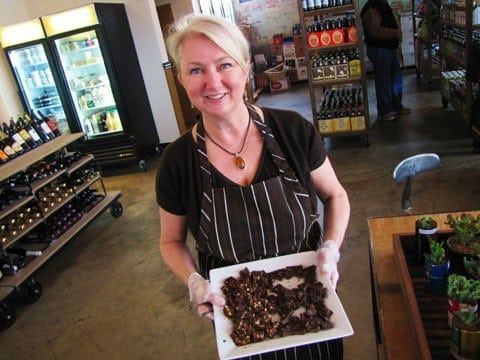 Dr Sue's Chocolate Grapevine