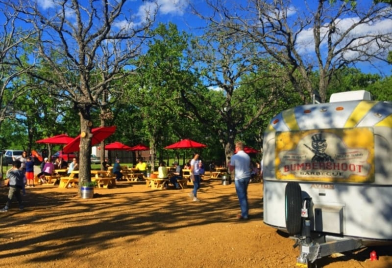 Dining out in dallas backyard style funcity stuff dfw - American gardens west 7th fort worth ...
