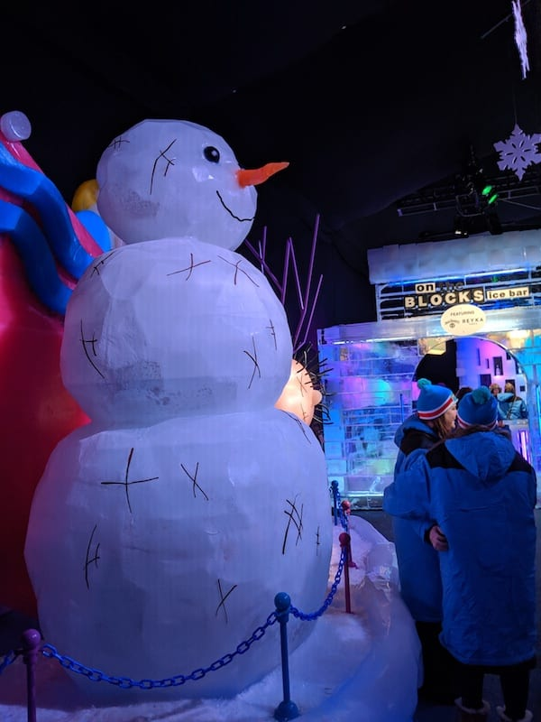It's time for the season's hottest chill: ICE! at the Gaylord Texan